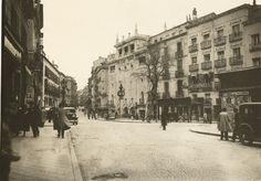 Old photo - Plaza de Tirso de Molina, Madrid Spain