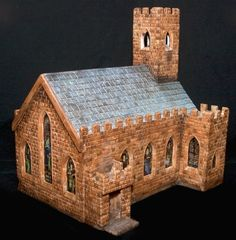 Ian Costello - ScaleCast Amazing Buildings, Scale Models, Galleries, Scale Model