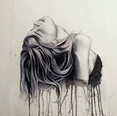 anxiety and depression art