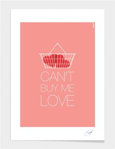 "Curioos.com | ""Can't Buy Me Love"" by Rahma Projekt Limited Edition  - Gallery Quality Art Print"