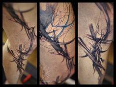 #wildlinestattoo #dodac #dodactattoo #abstracttattoo #colortattoo #inked #ink #linear #cheyennehawk #eternalink #pantheraink #tattrx #tatoogirl #czechtattoo #pilsen#divadlopodlampou Line Tattoos, S Tattoo, Czech Tattoo, Cheyenne Hawk, D Line, Watercolor Tattoo, Ink, India Ink, Temp Tattoo