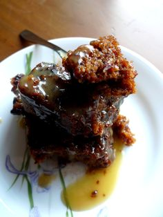 Toffee pudding with ginger
