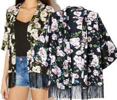 Um Kimono que pode ser usado no verão e no inverno, dependendo do tecido usado e fica bem tanto para as magrinhas quanto cheinhas. Segue esquema de modelagem do PP ao EGG.