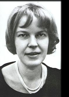 Portraitfoto von Ingeborg Bachmann