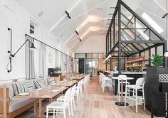 old church converted into library australian café