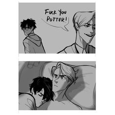 Read from the story Harry Potter \drarry talks/ by (Słowacka) with reads. Draco Harry Potter, Harry Potter Anime, Harry Potter Comics, Blaise Harry Potter, Harry Potter Ships, Harry Potter Universal, Harry Potter World, Drarry Fanart, Drarry Smut
