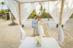 Destination Wedding: Punta Cana - All Inclusive hotel Riu Palace Bavaro - Beach Wedding