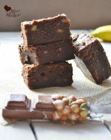 Z miłości do słodkości...: Ciasto bananowo - czekoladowe a'la Brownie Desserts, Food, Gastronomia, Children Cake, Pies, Tailgate Desserts, Deserts, Essen, Postres