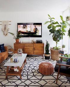 Modern Midcentury Living Room Ideas (34)