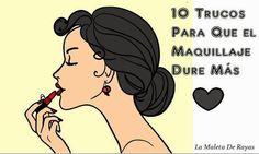 10 Trucos para que tu maquillaje dure más, ¡apunta!