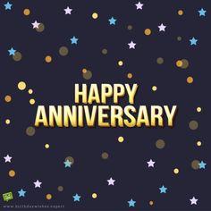 Happy Anniversary!
