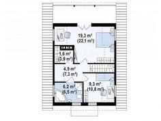 Modele de case din lemn: 3 exemple deosebite - Case practice Tree Bedroom, Floor Plans, Diagram, Bedrooms, Farmhouse, Houses, Projects, Homes, Bedroom