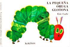 Con este libro seguiremos el proceso  de transformación de una oruga en una preciosa mariposa.