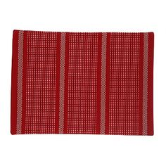 Briscoes - Just Home Stanton Red Placemat Placemat, Dining Room, Colours, Red, Home, Style, Swag, Ad Home, Homes