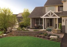 front yard courtyard designs | Is it time for a front yard makeover? - Land Design MN