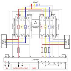 image result for 3 phase changeover switch wiring diagram my Flow Switch Wiring Diagram automatic transfer switch with control unit