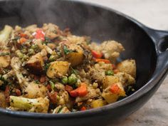 The Colors Of Indian Cooking: A Fresh Spring Dish, An Indian Classic : Cauliflower and Potato
