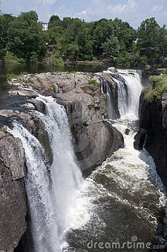 waterfalls New Jersey | The Great Falls Of Paterson New Jersey