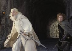 Gandalf the White and Pippin Rings Film, Fellowship Of The Ring, Lord Of The Rings, Pink Costume, Into The West, Dark Lord, Dark Places, Middle Earth, Tolkien