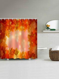 "Rustic Shabby Wooden House Bike Bathroom Home Fabric Shower Curtain 71/"""