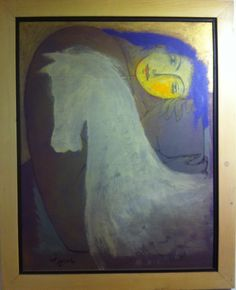 #IranianPainters Without Title By Bahram Dabiri (1994) Medium: Acrylic on Canvas Dimensions: 92*71 cm Location: Seyhoun Art Gallery, Tehran, Iran CopyRight: Fair Use بدون عنوان از بهرام دبيري (١٣٧٣) تكنيك: اكريليك بر بوم اندازه اثر: ٧١*٩٢ سانتيمتر محل نگهداري اثر: گالري هنري سيحون ١، تهران، ايران حق تكثير: استفاده منصفانه