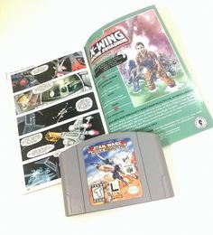 FLASH SALE use coupon code 30PERCENTOFF to receive 30% Off shop wide. Nintendo 64 Star Wars Rogue Squadron game cartridge and instruction booklet. This game has been tested and works. This game is compatible with the N64 Expansion Pak. Overview Its a time of great rejoicing in the