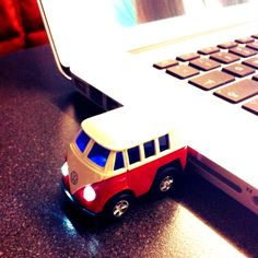 VW Bus USB stick. I don't use USB sticks, but if I did, I'd use this one.