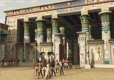 El templo de Edfu una de las visitas del crucero por El nilo