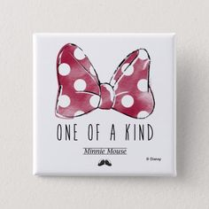 Customizable Button made by Zazzle Flair. Personalize it with photos & text or shop existing designs! Minnie Mouse Gifts, Cute Mickey Mouse, Minnie Bow, Minnie Mouse Drawing, Beginner Sketches, How To Draw Ears, Mouse Paint, Disney Invitations, Custom Buttons