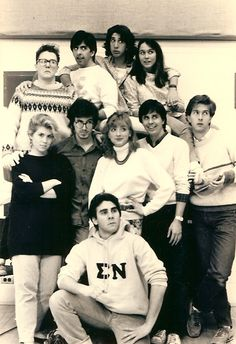 Remember That One Time David Schwimmer And Stephen Colbert Were In An Improv Group Together?