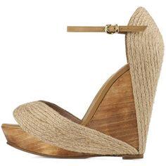 wooden espadrilles