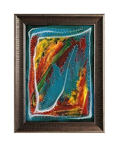 "EINGERAHMTER KUNSTDRUCK ""THUNDERSTORM"" MARACHOWSKA ART MARACHOWSKA ART http://www.marachowska.com/"