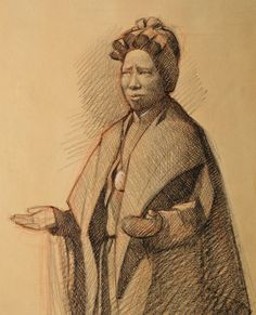 """Study of St. Josephine Bakhita - Neilson Carlin 