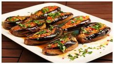 """Mediterranean Style, """"Vegetarian Aubergine"""" cooked with Thya Organic Extra Virgin Olive Oil Albanian Recipes, Lebanese Recipes, Turkish Recipes, Soup Recipes, Vegetarian Recipes, Cooking Recipes, Healthy Recipes, Macedonian Food, Eggplant Recipes"""