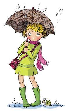 ●••°‿✿⁀Rainy Days‿✿⁀°••●  ~Cécile Hudrisier