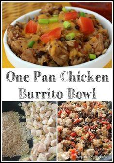 One Pan Chicken Burr