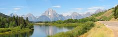Grand Tetons Wallpaper Panoramic | panoramic view and scroll down to see 3 panoramic pictures
