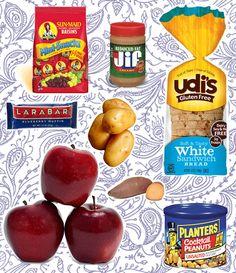 Gluten Free College Grocery List via collegeglitter