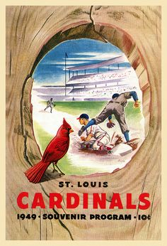 1949 St Louis Cardinals Scorecard