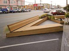Noriega Streer Parklet in San Francisco. By Matarozzi Pelsinger Design + Build.