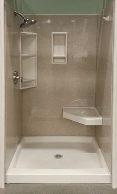 Shower Gallery Bathroom Shower Panels, Home Reno, Reno Ideas, Bathroom Ideas, Bathtub, Gallery, House, Standing Bath, Bathtubs