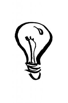 Using my calligraphy pen for a little illustration ... what a lightbulb moment!