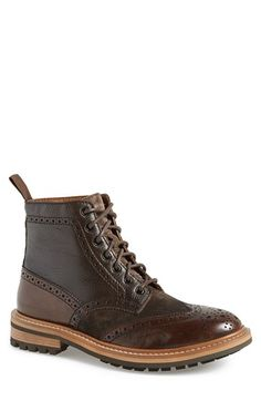 1901 'Payson' Wingtip Boot (Men) available at #Nordstrom