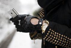 Rocking inspiration for Rok Chik #leathergloves