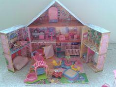 Baby Born miniworld Puppenhaus XXL mit Zubhör