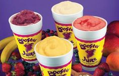 Booster Juice is one of the most AMAZING stores ever made. It's full of delicious/healthy smoothies! It's my go to place all day err day. Good Smoothies, Juice Smoothie, Juice Booster, Juice Menu, Yummy Treats, Yummy Food, Food Places, Yummy Drinks, Love Food