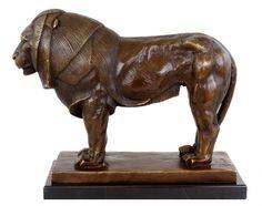 Proud Bronze Lion - Lion Sculpture - Rembrandt Bugatti