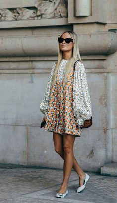 The Best Street Style Looks From Paris Fashion Week Spring 2019 - outfit ideas - Look Fashion, Paris Fashion, Trendy Fashion, Spring Fashion, Autumn Fashion, Womens Fashion, Trendy Style, Korean Fashion, 80s Fashion