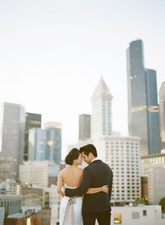 Seattle Wedding // Photo by Benj Haisch