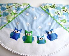 Snowy Forest Christmas Tree Skirt